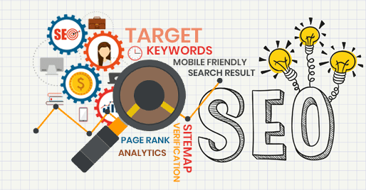 Targeting powerful keywords, analytics etc., with the use of Search Engine Optimization service